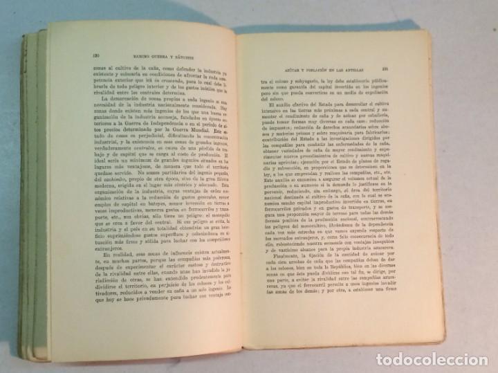 Libros antiguos: Ramiro Guerra y Sánchez: Azúcar y Población en las Antillas (1927) - Foto 6 - 217958473