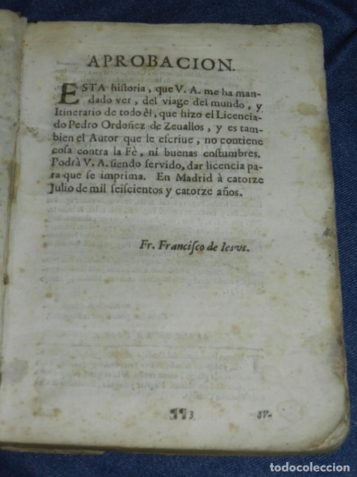 Libros antiguos: (MF) PEDRO ORDOÑEZ DE CEBALLOS - HISTORIA Y VIAGE DEL MUNDO DEL CLERIGO, CIUDAD JAEN, FILIPINAS 1691 - Foto 3 - 218570947