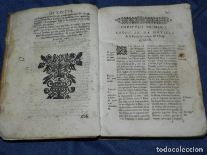 Libros antiguos: (MF) PEDRO ORDOÑEZ DE CEBALLOS - HISTORIA Y VIAGE DEL MUNDO DEL CLERIGO, CIUDAD JAEN, FILIPINAS 1691 - Foto 5 - 218570947