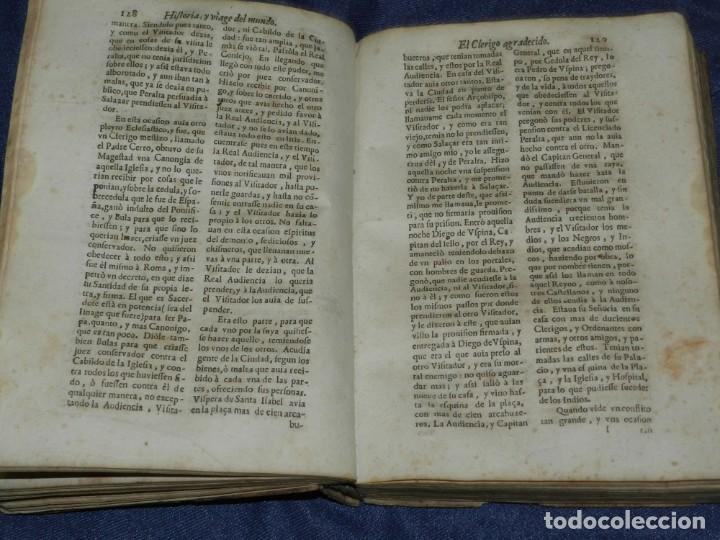 Libros antiguos: (MF) PEDRO ORDOÑEZ DE CEBALLOS - HISTORIA Y VIAGE DEL MUNDO DEL CLERIGO, CIUDAD JAEN, FILIPINAS 1691 - Foto 10 - 218570947
