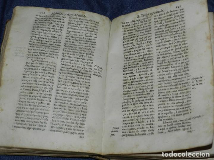 Libros antiguos: (MF) PEDRO ORDOÑEZ DE CEBALLOS - HISTORIA Y VIAGE DEL MUNDO DEL CLERIGO, CIUDAD JAEN, FILIPINAS 1691 - Foto 11 - 218570947