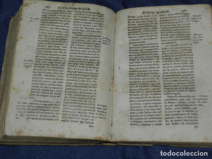 Libros antiguos: (MF) PEDRO ORDOÑEZ DE CEBALLOS - HISTORIA Y VIAGE DEL MUNDO DEL CLERIGO, CIUDAD JAEN, FILIPINAS 1691 - Foto 12 - 218570947