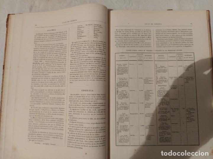 Libros antiguos: Atlas Geográfico de América - N. Estévanez - Foto 2 - 218998932