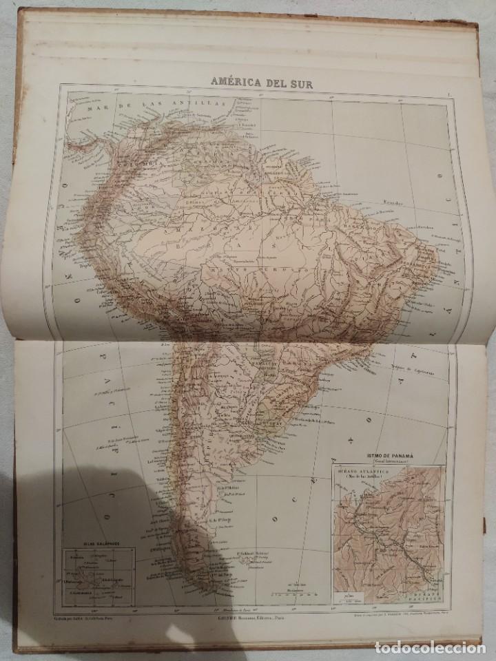 Libros antiguos: Atlas Geográfico de América - N. Estévanez - Foto 3 - 218998932