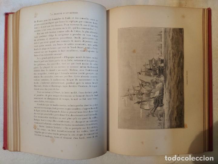 Libros antiguos: La Marine d'Autrefois - Georges Contesse - Foto 7 - 219000447