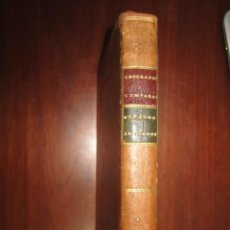 Libros antiguos: GEOGRAPHIE COMPAREE OU ANALYSE GEOGRAPHIE ANCIENNE ET MODERNE ESPAGNE ANCIENNE MENTELLE 1781 PARIS. Lote 219134457