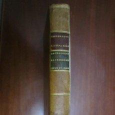 Libros antiguos: GEOGRAPHIE COMPAREE OU ANALYSE GEOGRAPHIE ANCIENNE ET MODERNE ASTRONOMIQUE M. MENTELLE 1778 PARIS. Lote 219135240