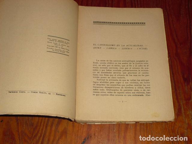 Libros antiguos: LA VIDA DEL BLANCO EN LA TIERRA DEL NEGRO - Foto 3 - 220891197