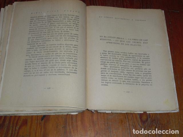 Libros antiguos: LA VIDA DEL BLANCO EN LA TIERRA DEL NEGRO - Foto 8 - 220891197