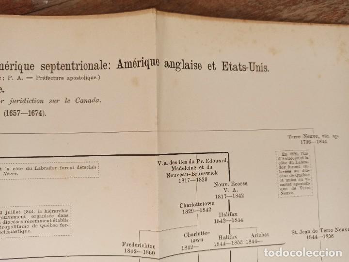 Libros antiguos: ESPLÉNDIDO ATLAS MISIONES CATÓLICAS, WERNER, LYON, 1886, 20 MAPAS Y TABLAS INGENTE INFORMACIÓN - Foto 17 - 220966268