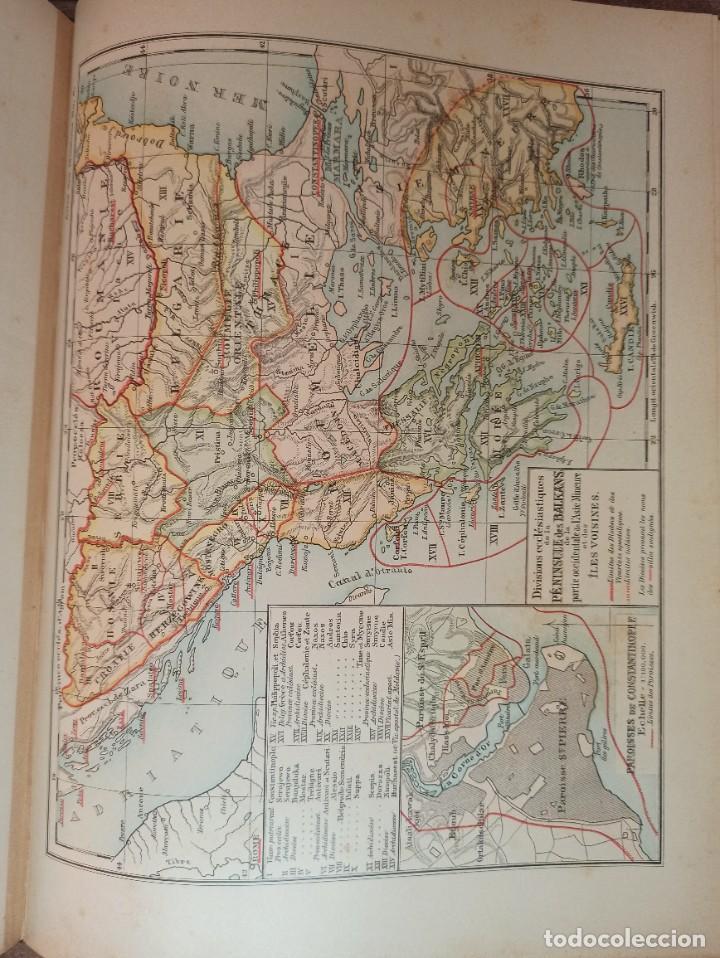 Libros antiguos: ESPLÉNDIDO ATLAS MISIONES CATÓLICAS, WERNER, LYON, 1886, 20 MAPAS Y TABLAS INGENTE INFORMACIÓN - Foto 25 - 220966268