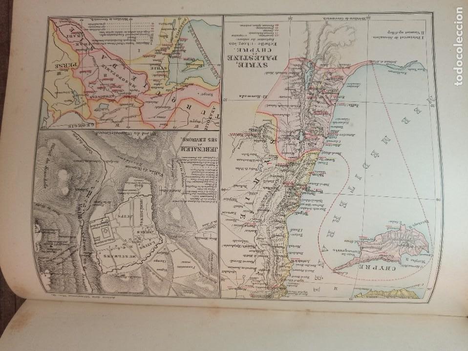 Libros antiguos: ESPLÉNDIDO ATLAS MISIONES CATÓLICAS, WERNER, LYON, 1886, 20 MAPAS Y TABLAS INGENTE INFORMACIÓN - Foto 27 - 220966268