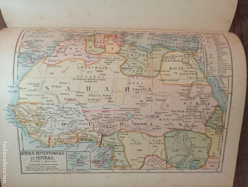 Libros antiguos: ESPLÉNDIDO ATLAS MISIONES CATÓLICAS, WERNER, LYON, 1886, 20 MAPAS Y TABLAS INGENTE INFORMACIÓN - Foto 32 - 220966268