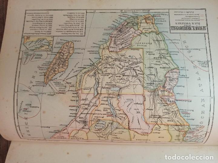 Libros antiguos: ESPLÉNDIDO ATLAS MISIONES CATÓLICAS, WERNER, LYON, 1886, 20 MAPAS Y TABLAS INGENTE INFORMACIÓN - Foto 33 - 220966268
