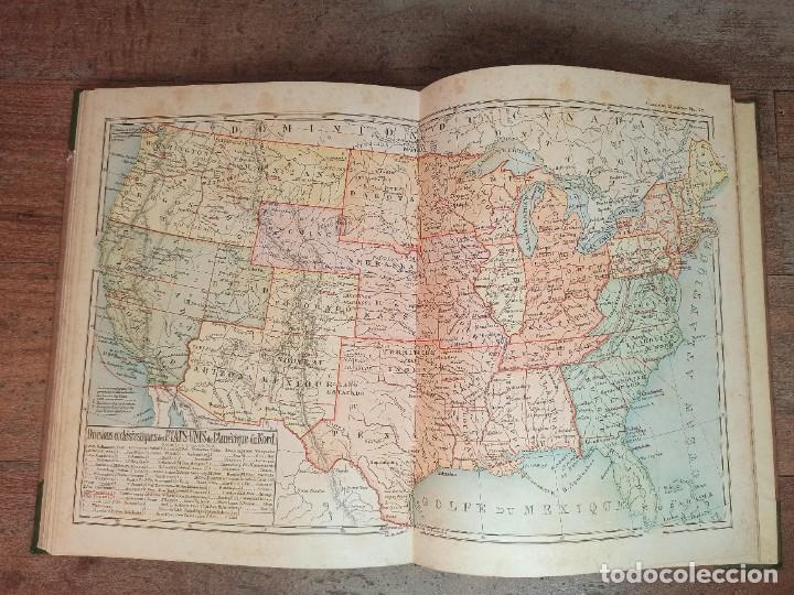 Libros antiguos: ESPLÉNDIDO ATLAS MISIONES CATÓLICAS, WERNER, LYON, 1886, 20 MAPAS Y TABLAS INGENTE INFORMACIÓN - Foto 36 - 220966268