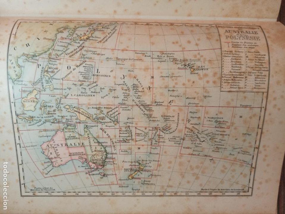Libros antiguos: ESPLÉNDIDO ATLAS MISIONES CATÓLICAS, WERNER, LYON, 1886, 20 MAPAS Y TABLAS INGENTE INFORMACIÓN - Foto 38 - 220966268