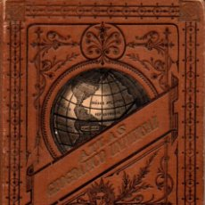 Libri antichi: ATLAS UNIVERSAL PALUZIE 1889. Lote 220973792