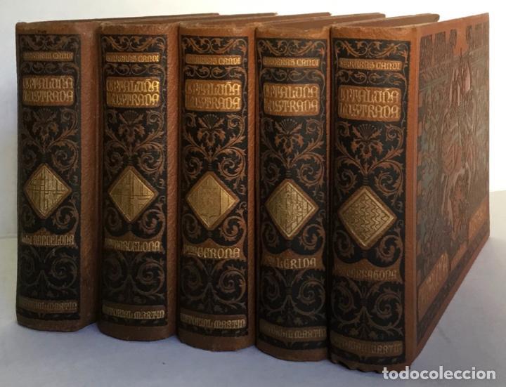 Libros antiguos: CATALUÑA ILUSTRADA. - CARRERAS Y CANDI, F. - Foto 2 - 123172075