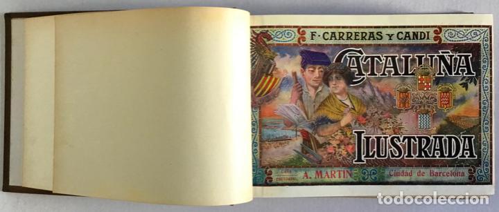 Libros antiguos: CATALUÑA ILUSTRADA. - CARRERAS Y CANDI, F. - Foto 3 - 123172075