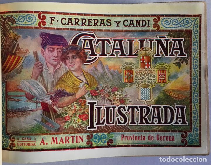 Libros antiguos: CATALUÑA ILUSTRADA. - CARRERAS Y CANDI, F. - Foto 17 - 123172075