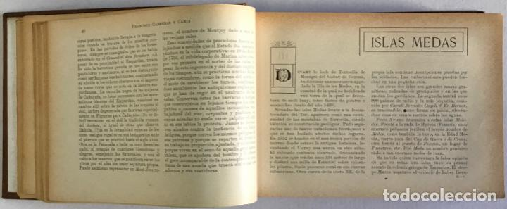 Libros antiguos: CATALUÑA ILUSTRADA. - CARRERAS Y CANDI, F. - Foto 19 - 123172075