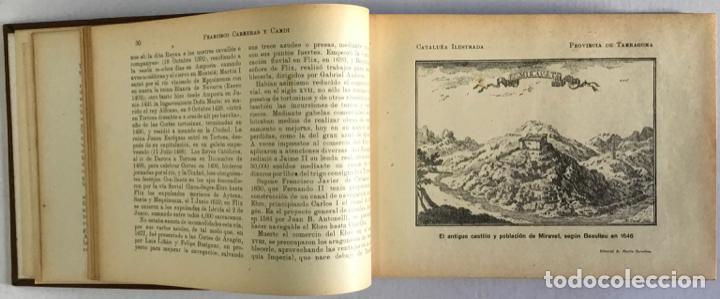 Libros antiguos: CATALUÑA ILUSTRADA. - CARRERAS Y CANDI, F. - Foto 27 - 123172075
