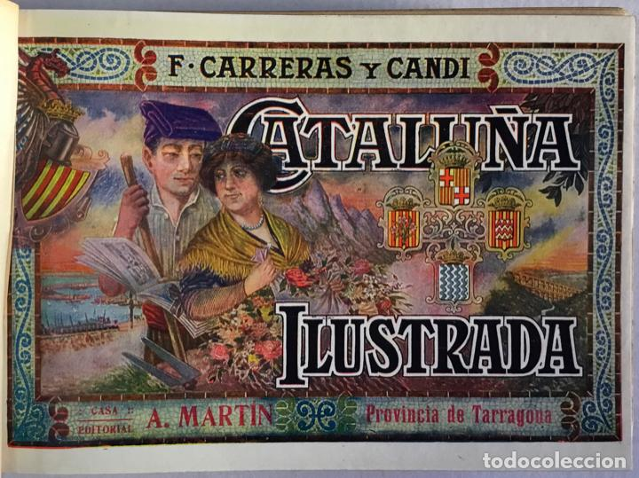 Libros antiguos: CATALUÑA ILUSTRADA. - CARRERAS Y CANDI, F. - Foto 28 - 123172075