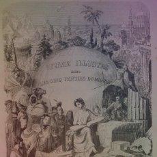 Libros antiguos: ESPECTACULAR VIAJE ILUSTRADO POR LAS CINCO PARTES DEL MUNDO MONUMENTAL LIBRO MAS DE 170 AÑOS. Lote 221283606