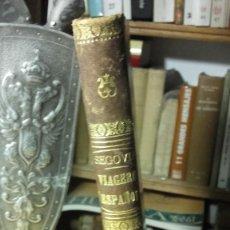 Libros antiguos: MARIA SEGOVIA: MANUAL DEL VIAJERO ESPAÑOL, DE MADRID A PARIS Y LONDRES, (MADRID, 1851).. Lote 221426356