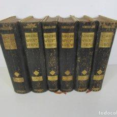 Libros antiguos: GEOGRAFÍA GENERAL DE CATALUNYA - F. CARRERAS I CANDI - 6 TOMOS, OBRA COMPLETA - AÑO 1908-18. Lote 221932291