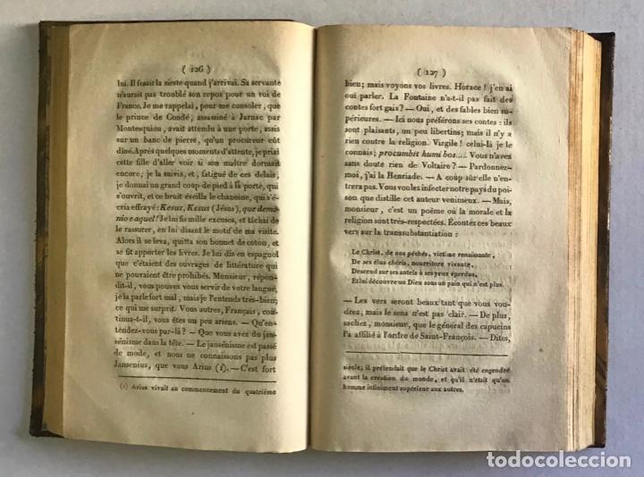 Libros antiguos: VOYAGE EN ESPAGNE DU CHEVALIER SAINT-GERVAIS, officier français... - LANTIER. 1089. - Foto 3 - 222017457