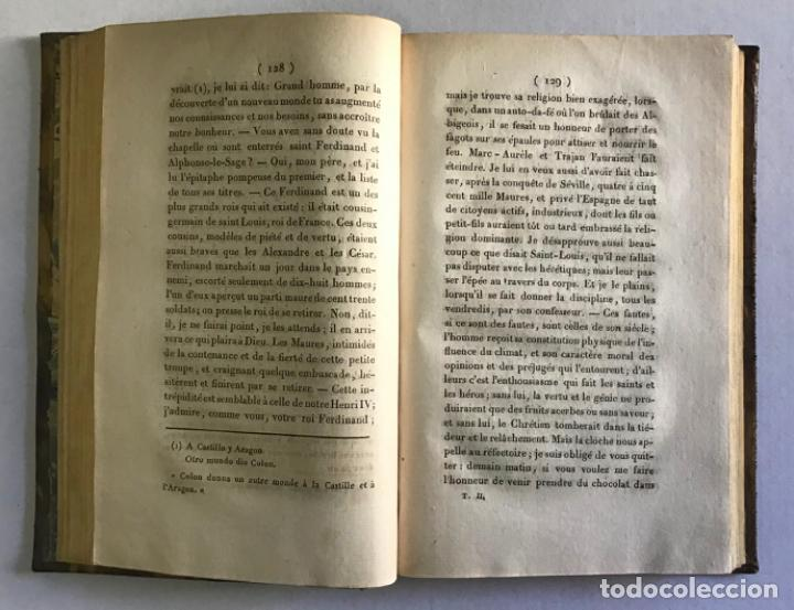 Libros antiguos: VOYAGE EN ESPAGNE DU CHEVALIER SAINT-GERVAIS, officier français... - LANTIER. 1089. - Foto 4 - 222017457