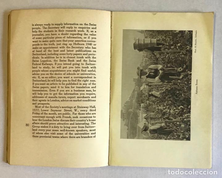 Libros antiguos: SWISS TOURIST ALAMANAC. Summer season 1921. SUIZA. - Foto 3 - 222043730