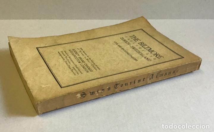 Libros antiguos: SWISS TOURIST ALAMANAC. Summer season 1921. SUIZA. - Foto 6 - 222043730