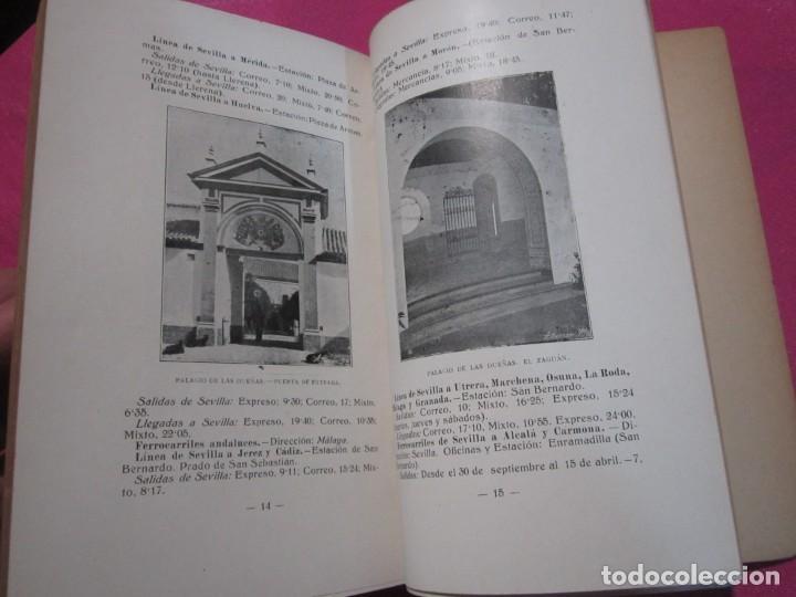 Libros antiguos: GUIA DE SEVILLA DEDICADA A LOS CONGRESISTAS POR EL COMITE CENTRAL 1917 - Foto 4 - 222400177