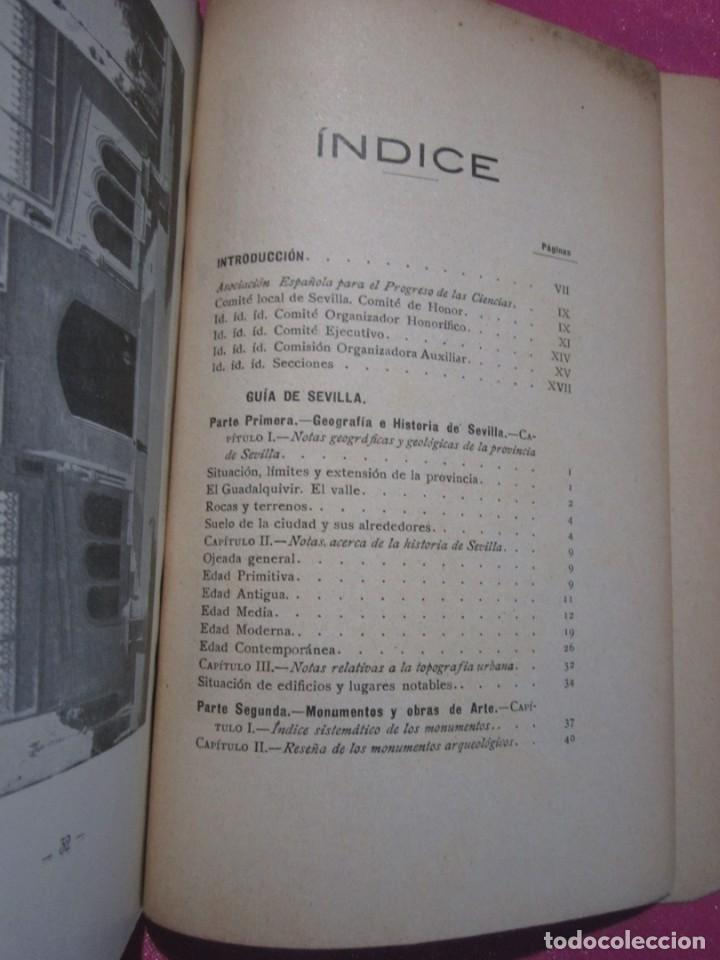 Libros antiguos: GUIA DE SEVILLA DEDICADA A LOS CONGRESISTAS POR EL COMITE CENTRAL 1917 - Foto 7 - 222400177