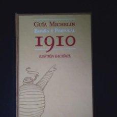 Libros antiguos: GUÍA MICHELÍN 1910 ESPAÑA Y PORTUGAL. Lote 222535716