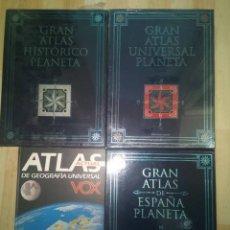 Libros antiguos: GRAN ATLAS EDITORIAL PLANETA. Lote 222563348