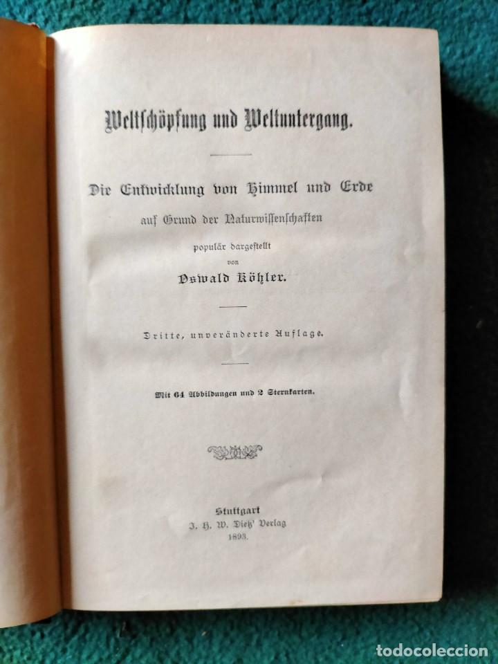 Libros antiguos: ANTIGUO LIBRO GEOGRAFÍA EN LENGUA ALEMANA. STTUGART 1893 - Foto 2 - 222744586