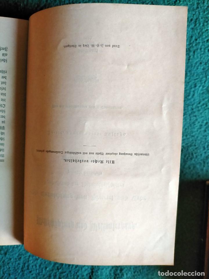 Libros antiguos: ANTIGUO LIBRO GEOGRAFÍA EN LENGUA ALEMANA. STTUGART 1893 - Foto 3 - 222744586