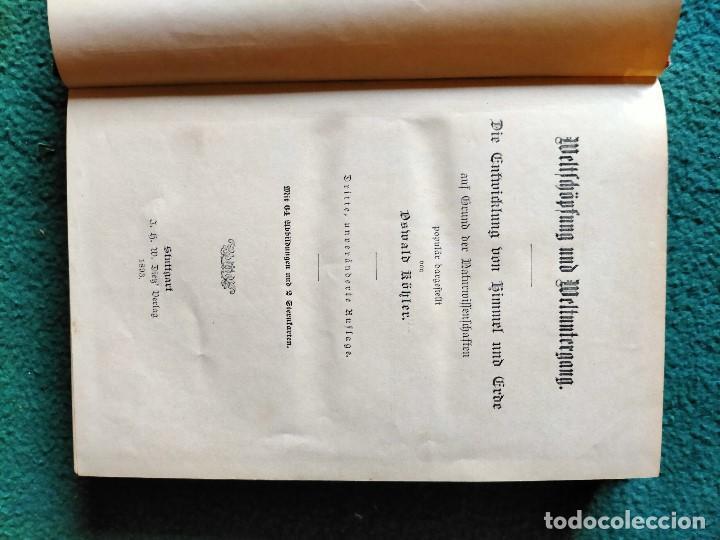 Libros antiguos: ANTIGUO LIBRO GEOGRAFÍA EN LENGUA ALEMANA. STTUGART 1893 - Foto 13 - 222744586