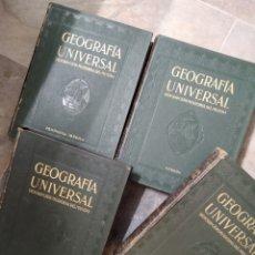 Libros antiguos: GEOGRAFÍA UNIVERSAL DESCRIPCIÓN MODERNA DEL MUNDO INSTITUTO GALLACH DE LIBRERÍA Y EDICIONES 1929. Lote 222921811