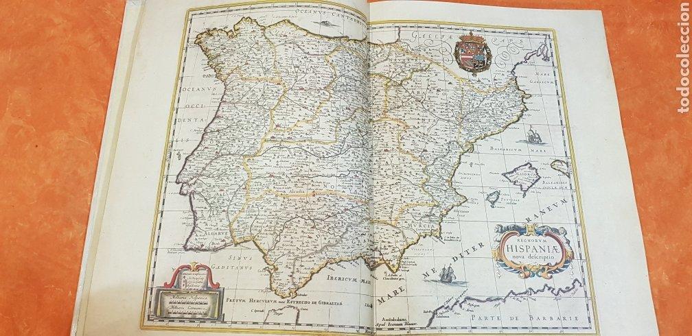 Libros antiguos: HIspania geografia blaviana.IOANNIS BLAEV. - Foto 4 - 223384615