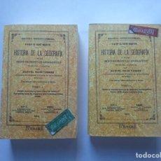 Libros antiguos: HISTORIA DE LA GEOGRAFÍA Y DE LOS DESCUBRIMIENTOS GEOGRÁFICOS. LOUIS VIVIEN DE SAINT MARTIN. 2 TOMOS. Lote 224221993
