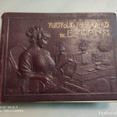 Libri antichi: LIBRO PORTFOLIO FOTOGRÁFICO DE ESPAÑA (TOMO 2). CASTILLA NUEVA Y CASTILLA VIEJA. Lote 224858198