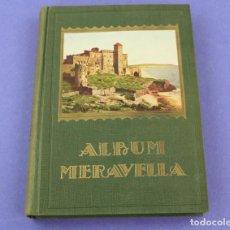 Libri antichi: ÁLBUM MERAVELLA, LLIBRE DE BELLESES NATURALS I ARTÍSTIQUES, 1931, VOLUM IV, BARCELONA. 28X20CM. Lote 225510503
