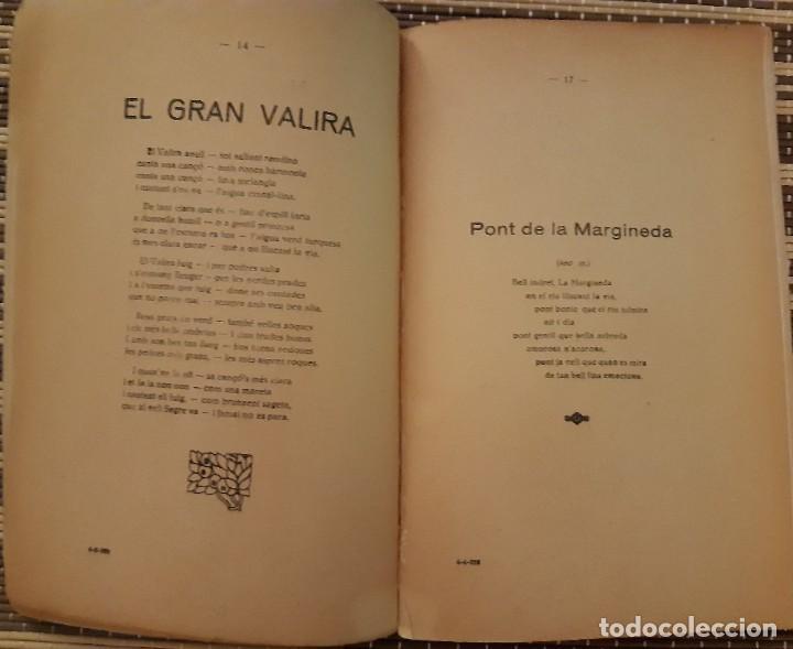 Libros antiguos: DE LES VALLS ALS CIMS DE b.GISPERT SANDOVAL - Foto 2 - 225867007