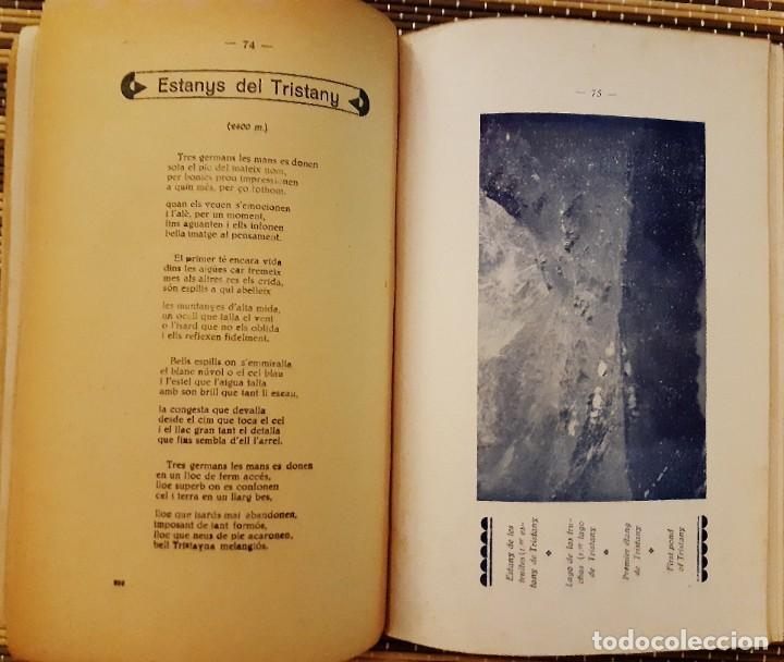 Libros antiguos: DE LES VALLS ALS CIMS DE b.GISPERT SANDOVAL - Foto 3 - 225867007