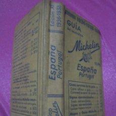 Libri antichi: GUIA MICHELIN ESPAÑA PORTUGAL 1936 1938 AÑOS GUERRA CIVIL .. Lote 240807325