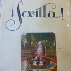 Libros antiguos: SEVILLA APUNTES SENTIMENTALES PARA UNA GUIA LITERARIA ROGELIO PEREZ OLIVARES 1929. Lote 226238995